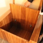 Chair Cushion Lifts to Reveal Secret Storage Compartment
