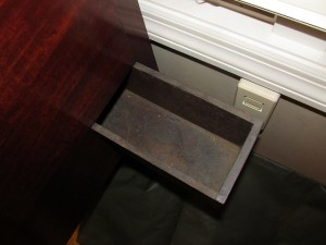 Vintage Secret Compartment Furniture Chest