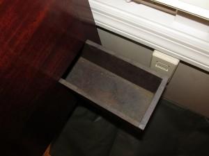Vintage Secret Compartment Furniture Chest