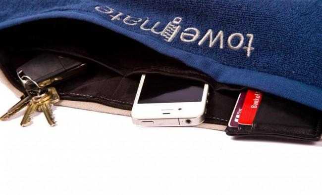 Towelmate with Secret Gadget Compartments