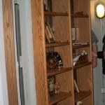 Swing-in Bookshelf Door