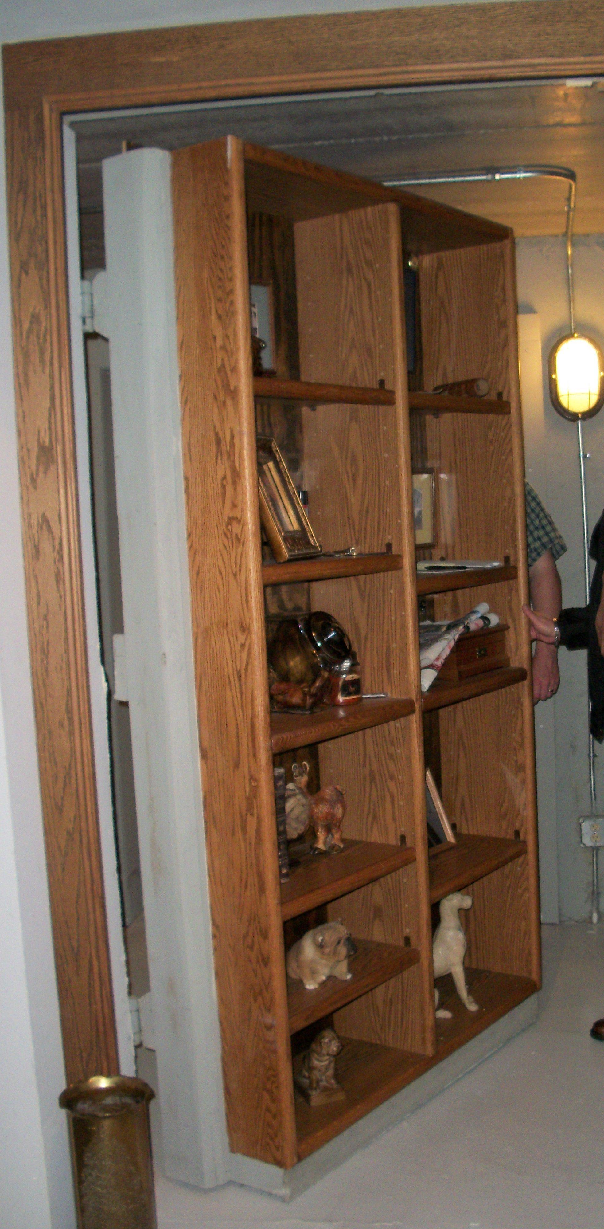 Secret Room Behind Bookshelf Door Stashvault