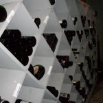 Hidden Underground Wine Cellar