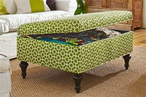 How To Build A Footstool With Storage