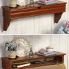 Shelf Contains Hidden Storage