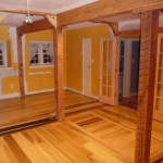 Wooden Floor with Trapdoor to Basement