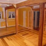 Wooden Floor with Trapdoor to Basement