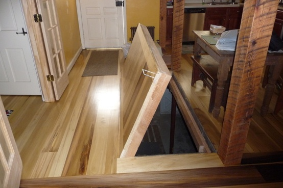 Trap Door Wine Cellar Designs