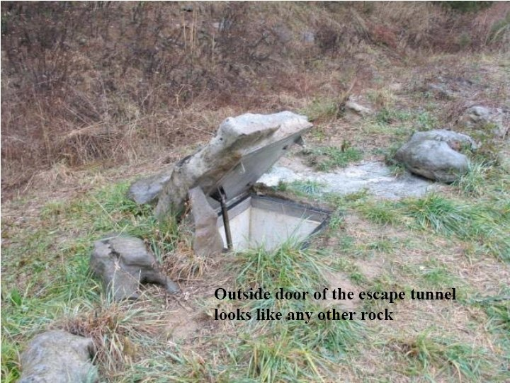 False Rock Escape Tunnel Door