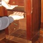 Hidden Stash Compartment in Bureau