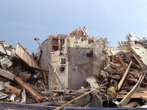 Bank Vault Door Storm Tornado Shelter