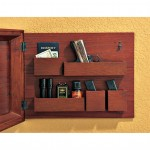 Hidden Compartment in Wooden Picture Frame