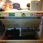 Secret Gun Storage Compartment in Workbench