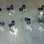 Silver Coins and Stash Containers
