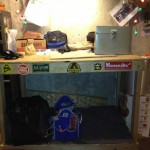 Workbench with Hidden Compartment