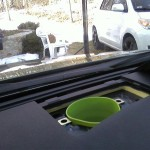 Unused Dash Speaker Spot Makes Great Stash Location