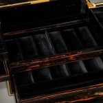 Many Secret Compartments in Antique Jewelry Box