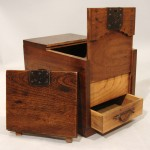 Secret Compartment Drawer in Japanese Merchant's Chest