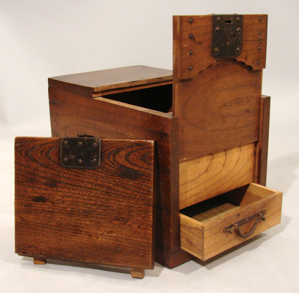 Japanese Merchant's Chest with Secret Compartment