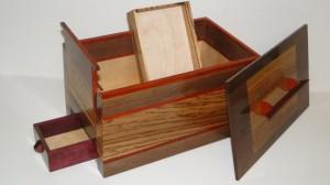 Secret Compartment Jewelry Box Stashvault