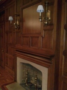 Hidden Compartment Above Fireplace