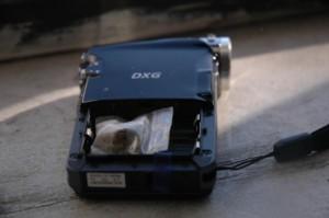 Broken Electronics Used as Secret Stash Compartment