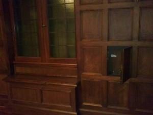 Hidden Door Opens to Reveal Secret Compartment