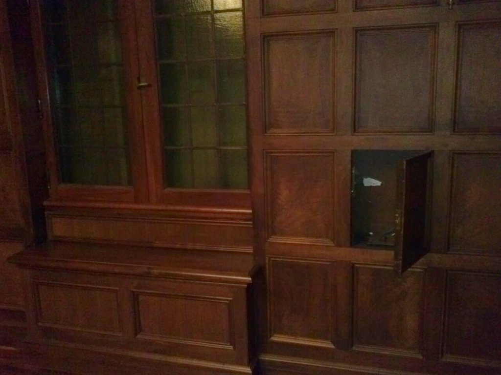 Hidden Door Opens to Reveal Secret Compartment