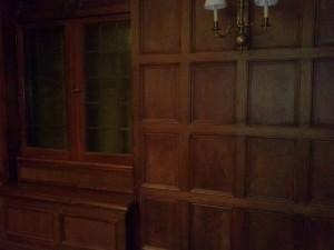 Wooden Door is Hidden When Closed