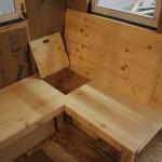 Wooden Bench Has Secret Storage