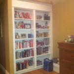 Door Hidden as Bookcase