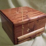 Custom Wooden Compartment Box
