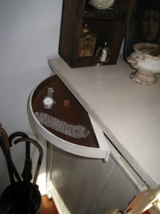 Hidden Jewelry Compartment in Furniture