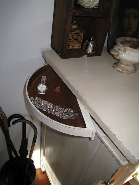 Secret Compartments in Antique Dresser