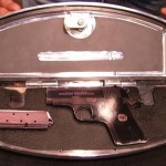Firearm Securely Stored in Motorcyle Floorboard Compartment