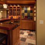 Kitchen Display Case Moves To Reveal Secret Room