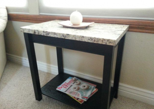 Secret Compartment in Table