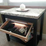 Secret Gun Compartment Furniture