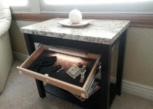 Secret Gun Compartment Furniture