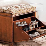 Concealed Shoe Compartment