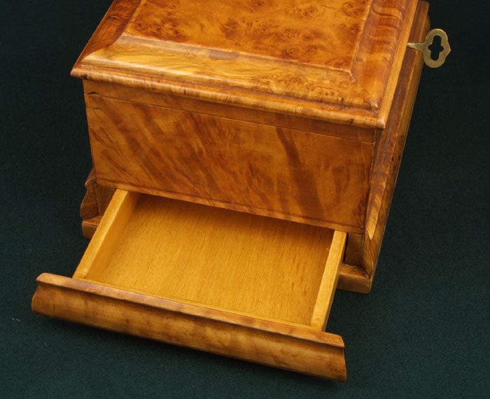 Jewelry Box with Secret Drawers