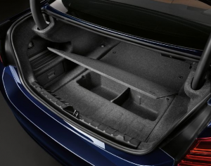 Hidden Storage Space in BMW Trunk