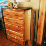 Secret Compartment Door on Custom Dresser