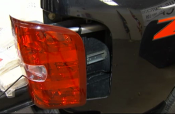 Hidden Compartment in Car Tail Light