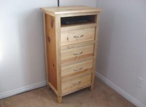 Secret Storage Compartment in Dresser