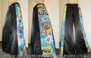 Transformers Raver Pants with Hidden Stash Pocket