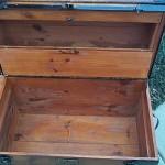 Secret Storage in Vintage Trunk Lid