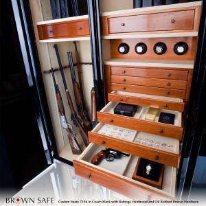 Interior of Luxury Gun Safe