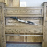 Quick Gun Access Secret Compartment Headboard