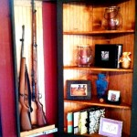 Secret Gun Compartments in Cabinet